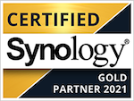 Synology Certified Gold Partner 2021